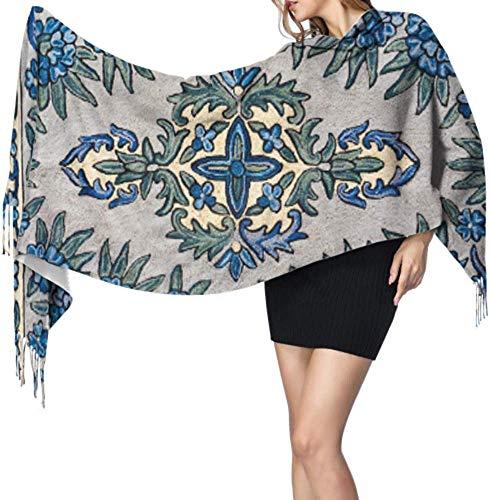 Arabische tapijt gekleurde sjaal mode kasjmier sjaal mode sjaal 77