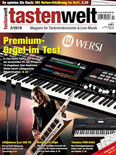 Premiumorgel im Test Sonic OAX1 Jean-Michel Jarre Interview Piano-Sounds Special Workshop Cubase