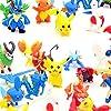 Funmo - 48 pièces Pokémon Mini Figures Action Figurines, Enfants et Adultes Party Celebration #1