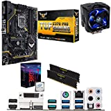 Image of Components4All Intel Coffee Lake Core i7 8700K 5.0GHz Overclocked CPU, ASUS TUF Z370-PRO GAMING Motherboard, 16GB 3200MHz Corsair DDR4 RAM & Sapphire Vapor-X Cooler Pre-Built Bundle