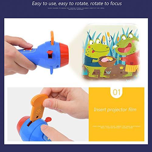 ZXYWW Juguete para Linterna con Proyector para Niños, Linternas De ...