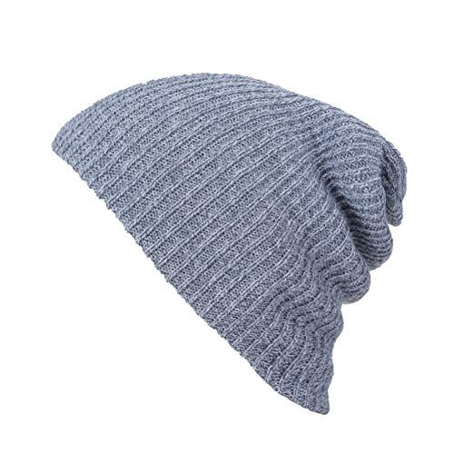 BESTOYARD Unisex Slouchy Wintermütze Strickmütze Weiche warme Ski-Mütze Hip-Pop Mütze für Männer und Frauen