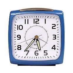 Impecca WAA32NB Bell Alarm Clock Metallic Blue