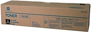 Konica Minolta A0D7132 ( Konica Minolta TN213K ) Laser Toner Cartridge, Works for bizhub C203, bizhub C253
