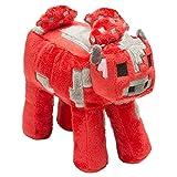 JINX Minecraft Mooshroom Plush Stuffed Toy, Red, 9' Long