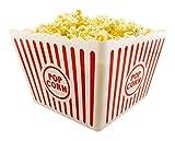 I.Q. Accessories Plastic Popcorn Tub, Square