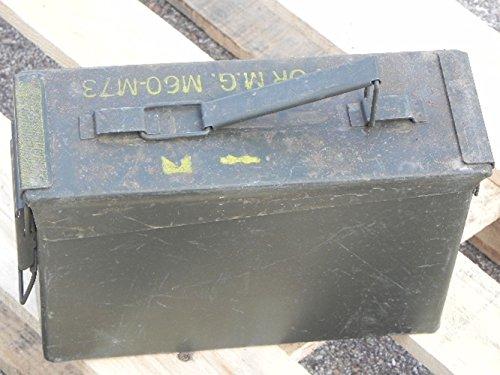 2er Set US Munitionskiste klein gebraucht 27,5 x 10,0 x 18,5 Munikiste Metallkiste 14,98€/Stück