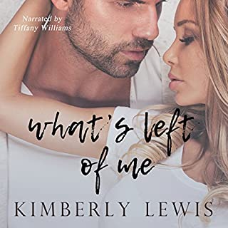 What's Left of Me audiobook cover art