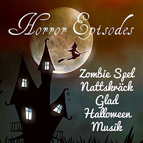 Horror Episodes - Zombie Spel Nattskräck Glad Halloween Musik med Electro Piano Roliga Ljud