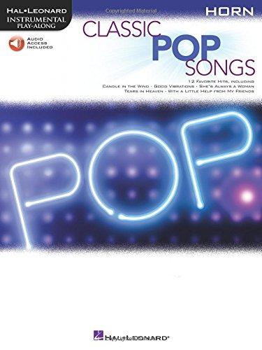Classic Pop Songs (Horn) (Hal Leonard Instrumental Play-along)