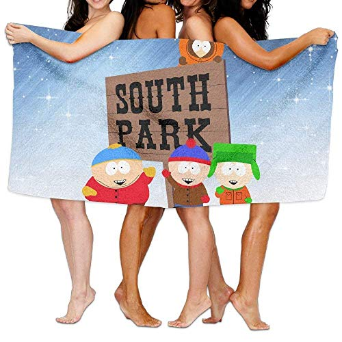 AGSIGGS Badetuch South Park, lebendiges Strand/Bad/Pool-Handtuch, 13,3 x 80 cm