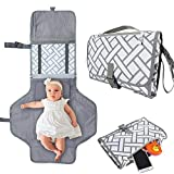 Cambiador portatil de pañales para Bebé Impermeable Kit Cambiador de Viaje con...