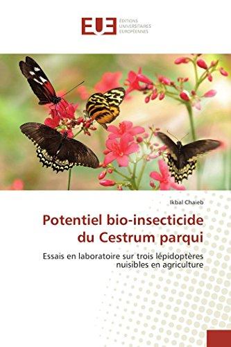 Potentiel bio-insecticide du Cestrum parqui: Essais en laboratoire sur trois lépidoptères nuisibles en agriculture