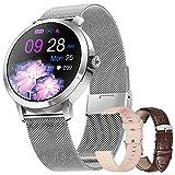 Smartwatch Mujer, Reloj Inteligente IP68 con Pulsómetro, Monitor...