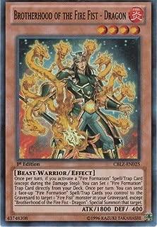 Yu-Gi-Oh! - Brotherhood of the Fire Fist - Dragon (CBLZ-EN025) - Cosmo Blazer - 1st Edition - Super Rare