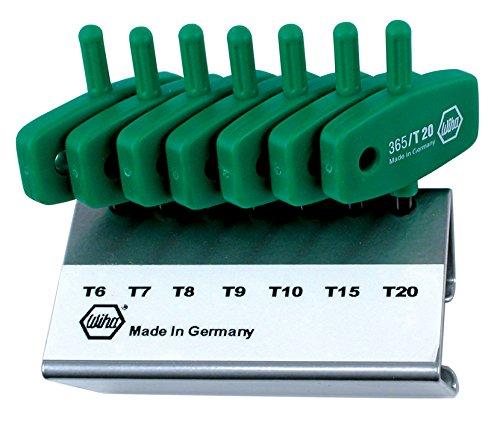 Wiha 36590 Torx Hex Key Set, Wing Handle, 7 Piece