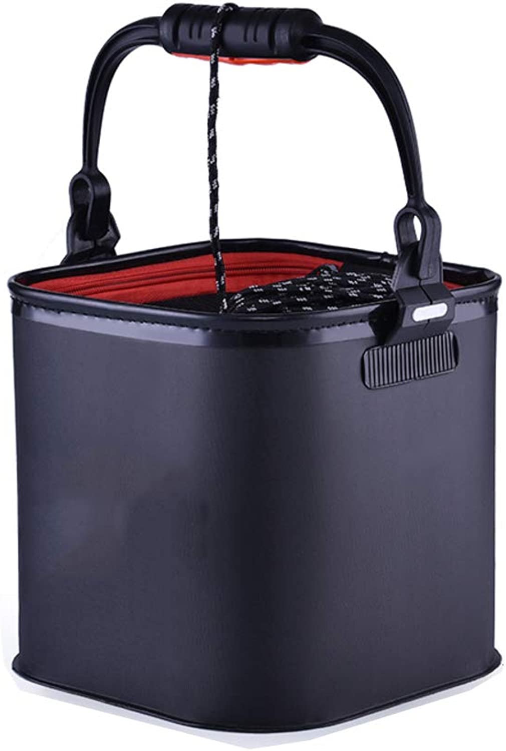 Large Capacity Collapsible Bucket,Portable Folding Water Container Space Saving Suitable for Outdoor Camping,Hiking & HomeD 7L