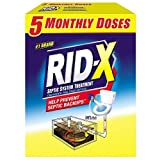 RID-X Septic Tank System Treatment, 5 Month...