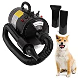 Miafamily Séchoir Animal Pet Dryer Pulseur Séchage-Poils Professionnel Sèche-Chien——avec Prise européenne 2400 W