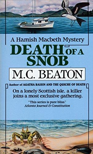 Death of a Snob (Hamish Macbeth Mysteries, No. 6) 0804109125 Book Cover