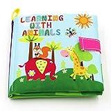 Aiming Baby Giocattoli Morbidi Libri di Panno Rustle Suono Infantile educativo Rattle Toy Passeggino