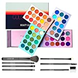 Eyeshadow Palette Color Board Eye Makeup Palette With Brushes Set Palettes Mattes and Shimmers Makeup Pallet Long Lasting Easy Blending