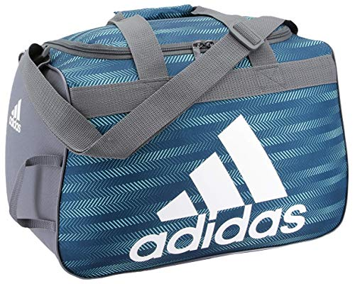 adidas Unisex Diablo Small Duffel Bag, Energy Aqua Ratio/Onix/White, ONE SIZE