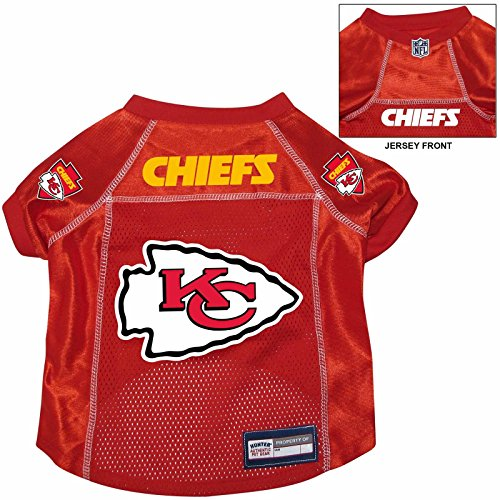 Kansas City Chiefs Pet Dog Football Jersey SMALL