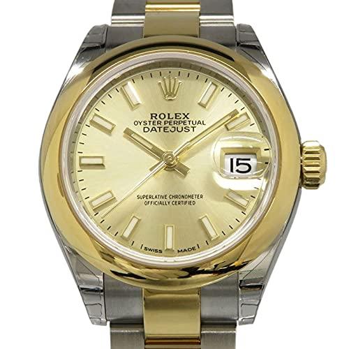 ロレックス ROLEX デイトジャスト 279163 シャンパン文字盤 腕時計 レディース (W163081) [並行輸入品]