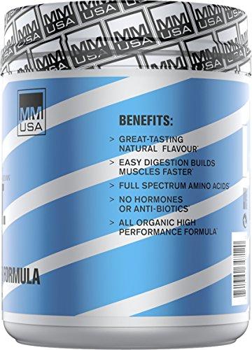 MMUSA G.O.A.T Protein Muscle Builder Formula,500 Gram, Cocoa
