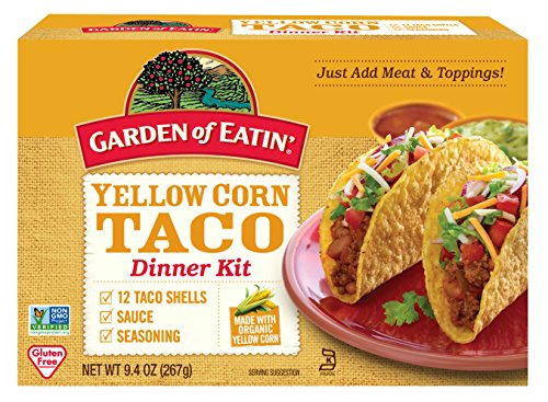 Garden of Eatin' Yellow Corn Taco Dinner Kit, 12 Taco Shells, 9.4 Oz