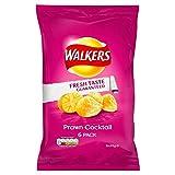 Walkers Gamberi Patatine Cocktail 25g X 6 Per Confezione (Confezione da 2)