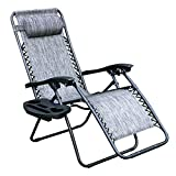Zero Gravity Chair, Lawn Chair Recliner Lounge Chair with...