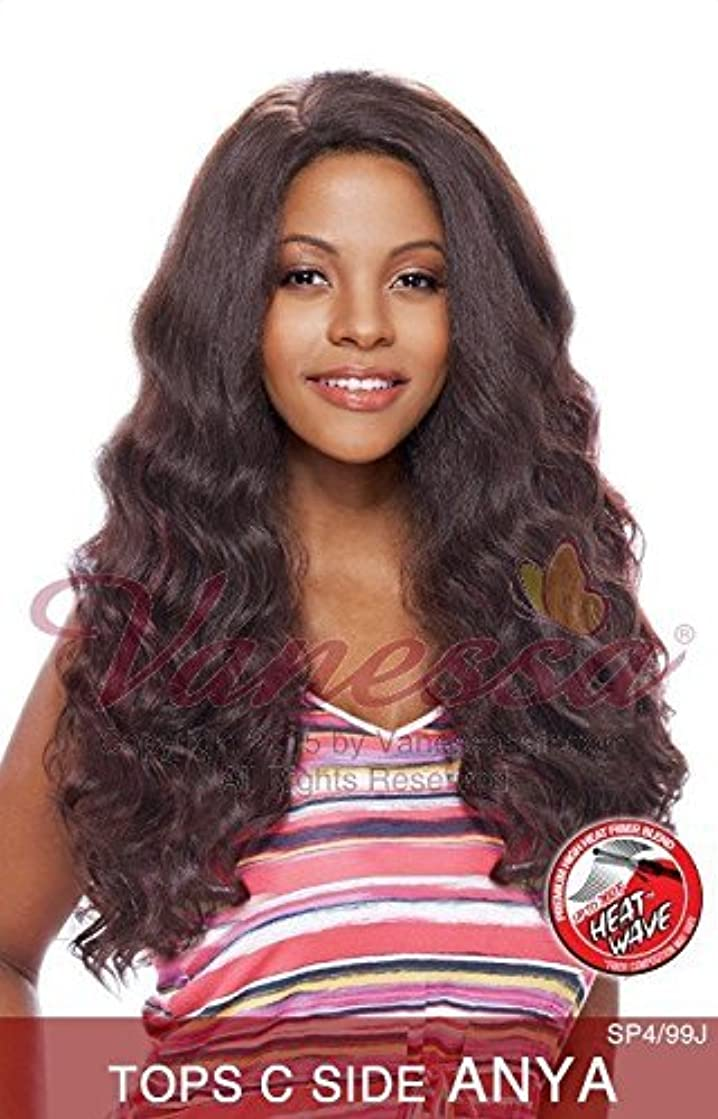TOPS C-SIDE ANYA (C1012) - Vanessa C-Side Part Lace Front Synthetic Wig
