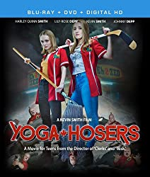 blu-ray cover for Yoga Hosers from Invincible Pictures