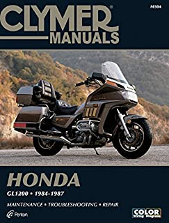 Clymer Honda GL1200, 1984-1987: Maintenance, Troubleshooting, Repair (Clymer Motorcycle)