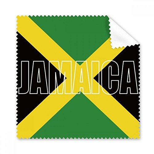 DIYthinker Jamaika Land Flag Name Brillenputztuch-Reinigungstuch Telefon Screen Cleaner 5Pcs Geschenk