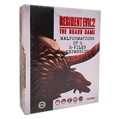 Desconocido Resident Evil 2: The Board Game - Malformations of G B-Files...