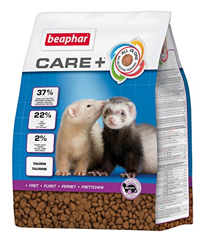 beaphar Care+ Frettchen | Frettchenfutter mit Hühnerfleisch | Unterstützt den Wachstumsprozess | Mit Taurin für Herz & Sehkraft | Mit Omega 3 und 6 | 2 kg