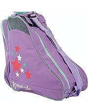 Roller Skate Bag, Ice & Skate Bag, Canvas & Beach Tote Bag, Inline Skate Bag voor Kids & Volwassenen Roller Skate Draagtas, Past tot maat 9 Skates