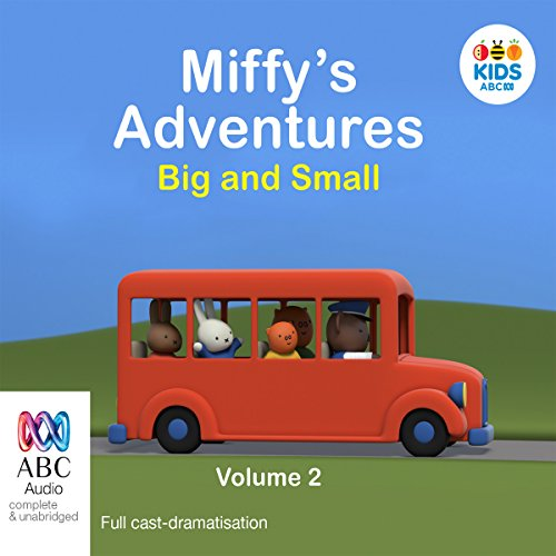 Miffy's Adventures Big and Small audiobook cover art