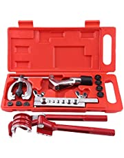 Aramox Pijp Flaring Kit, 11 st Rembuis Flare Tool Kit Rembrandstof Buis Reparatie Flare Kit Met Snijder Buigen Tool Set