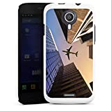 DeinDesign Wiko Darknight Hülle Case Cover Hard Case White - Sky High
