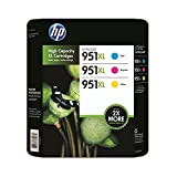 HP 951XL High Yield Original Ink Cartridge, Cyan/Magenta/Yellow