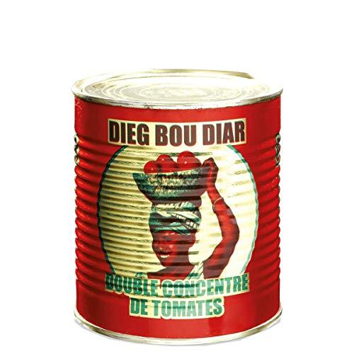 DIEG BOU DIAR Double concentré de tomate 800 g - (Lot de 2)