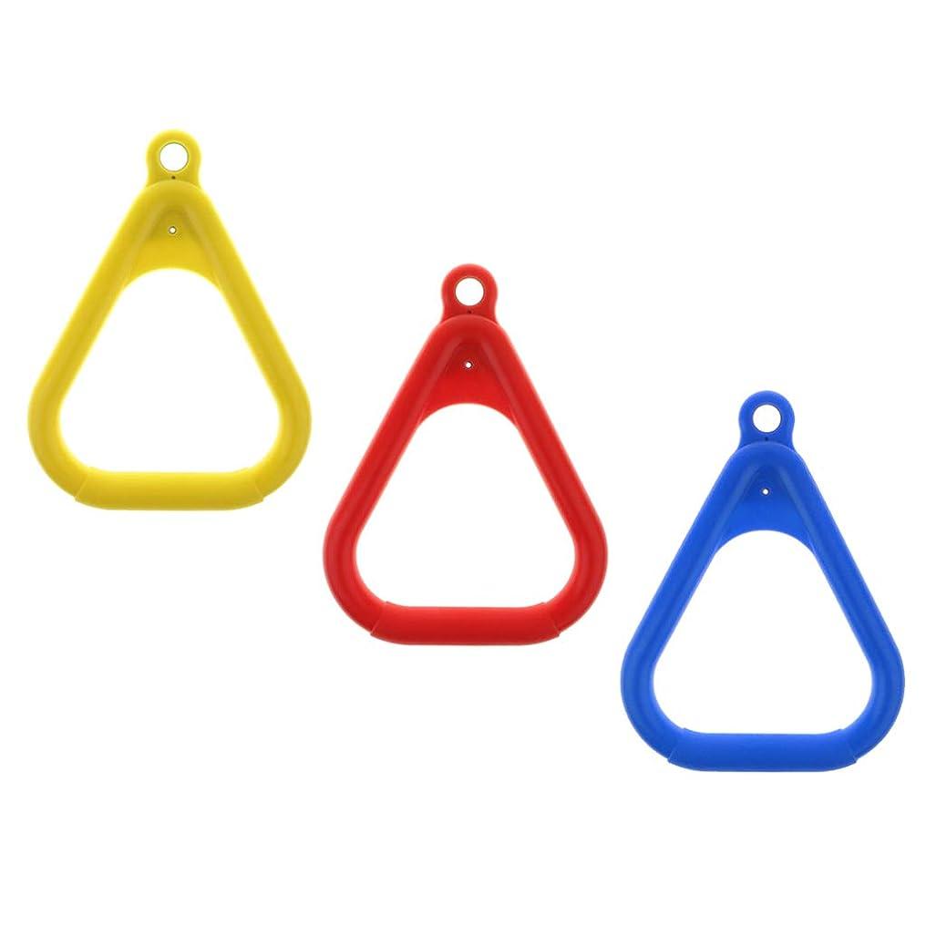 釈義つば方向FLAMEER 体操フライングリング 子供体操吊り輪 子供体操リング 屋外スイング玩具 子供体操用具 3個