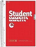 20 Brunnen Collegeblöcke Student A4 Lineatur 28 kariert