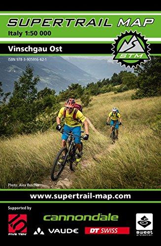 Supertrail Map Vinschgau Ost: Maßstab 1:50 000