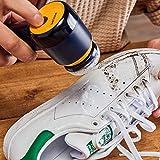 Philips Sneaker Cleaner - nettoyeur de baskets - 3 brosses incluses - Bleu/Jaune