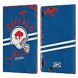 Head Case Designs Licenciado Oficialmente NFL Casco Distressed Look 100th Buffalo Bills Logo Art Car...